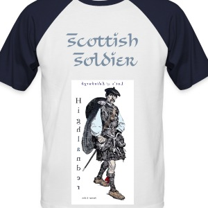 Scottish Soldier - Men's Baseball T-Shirt