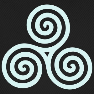 CELTIC TRIPLE SPIRAL - right | Basecap - Baseballkappe