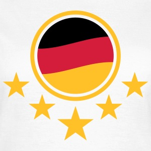 german_flag_3c T-shirts - Vrouwen T-shirt