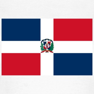 Flag Dominican Republic (dd) T-shirt - Maglietta da donna