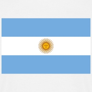 Flag Argentina (dd) T-shirts - T-shirt Homme