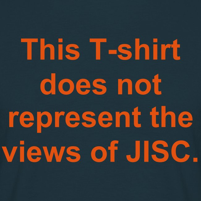 Not JISC t-shirt
