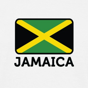 Flag Jamaica 2 (dd) T-Shirts - Men's T-Shirt
