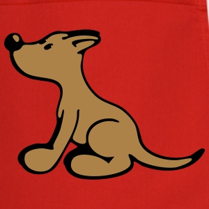 Sitting Dog  Aprons - Cooking Apron