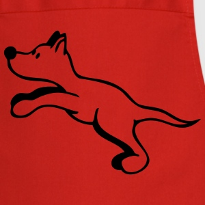 Dog jumps  Aprons - Cooking Apron