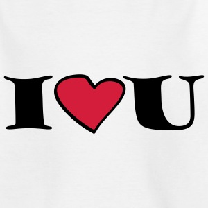 i_love_u_2c Shirts - Teenage T-shirt