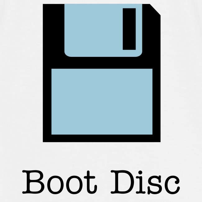 Boot Disc t-shirt