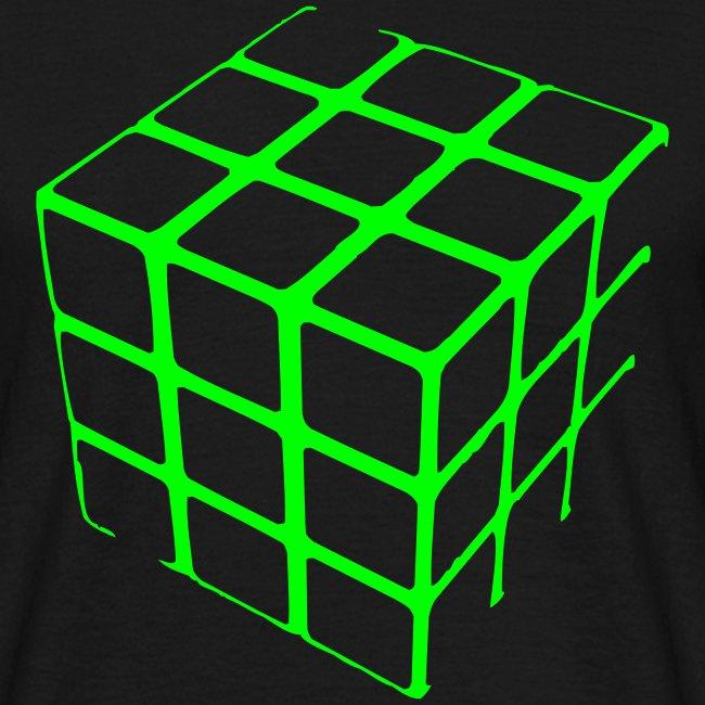 Cube Grid t-shirt