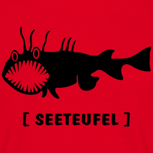 Raubfisch Fisch Seeteufel Anglerfisch