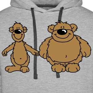 Two bears Hoodies & Sweatshirts - Men's Premium Hoodie