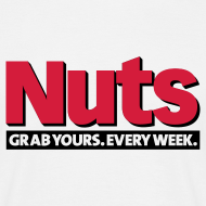 Design ~ Nuts Grab Yours Every Week - Men's T-Shirt