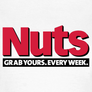 Design ~ Nuts Grab Yours Every Week - Women's T-Shirt