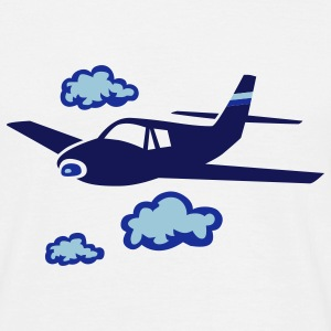 airplane_fly_sky T-Shirts - Men's T-Shirt