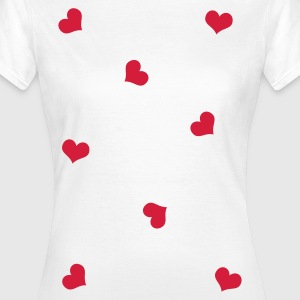 hearts T-Shirts - Frauen T-Shirt