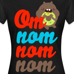 Om Nom Nom Nom Monster T-Shirts - Frauen T-Shirt
