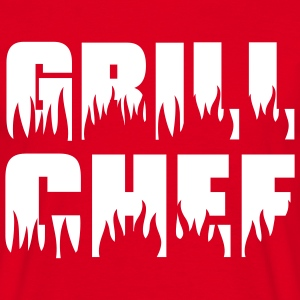 Grill chef - Grill - BBQ T-shirts - T-shirt Homme