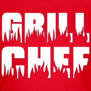 Grill chef - Grill - BBQ T-shirts - Dame-T-shirt
