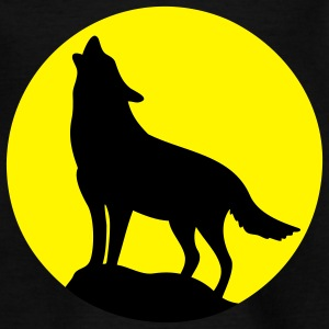 Howling Wolf Kids' Shirts - Teenage T-shirt