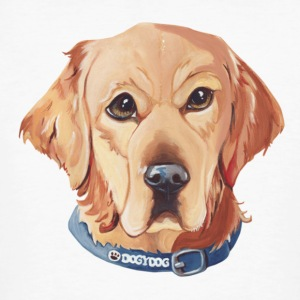 Golden Retriever T-Shirts - Männer Bio-T-Shirt