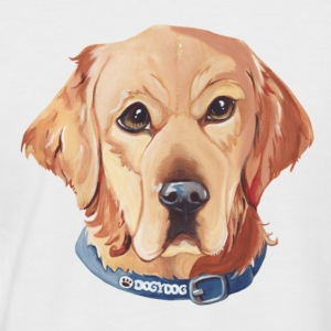 Golden Retriever T-Shirts - Männer Baseball-T-Shirt