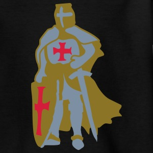 Templar Ritter Icon von Patjila Kinder T-Shirts - Teenager T-Shirt