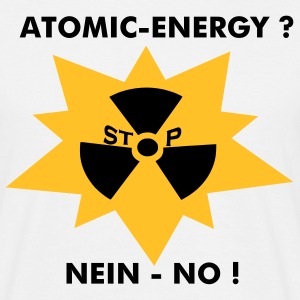 Atomic Energie - No ! - Männer T-Shirt