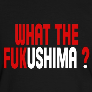 What the Fukushima ? T-Shirts - Men's Ringer Shirt