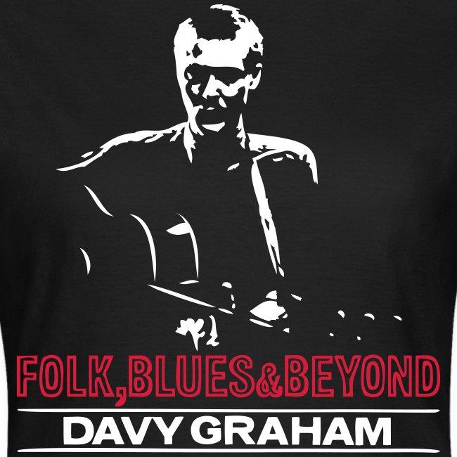 Folk, Blues & Beyond Ladies T-shirt