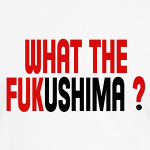 WHAT THE FUKUSHIMA ? T-shirts - Mannen contrastshirt
