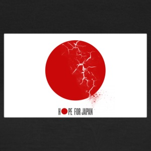 Hope for Japan T-shirts - Vrouwen T-shirt