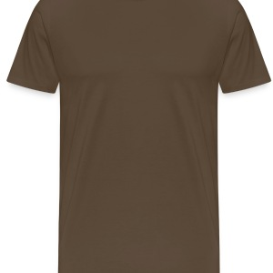 Brown / sand Europe Bags  - Men's Premium T-Shirt
