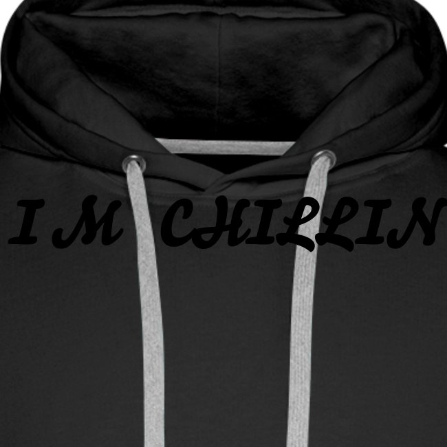 hoodies homme I M CHILLIN  C.S.M.A