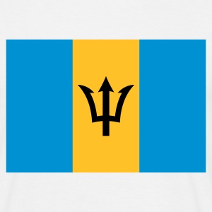 barbados flag T-Shirts - Men's T-Shirt