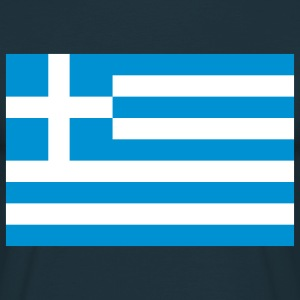 greece flag T-shirts - T-shirt herr
