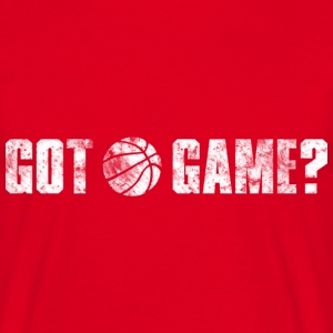 Basketball Got Game? (used look) T-Shirts - Männer T-Shirt
