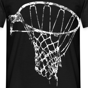 Noir Basket-ball Basketball Basket T-shirts - T-shirt Homme