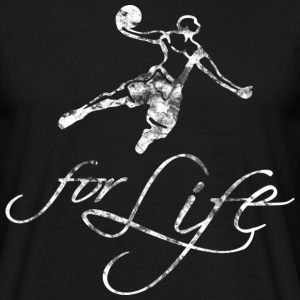 Basketball For Life (used look) - Männer T-Shirt