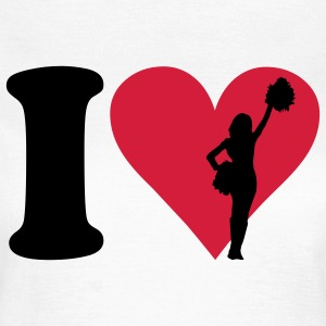 I love Cheerleading T-shirts - Vrouwen T-shirt