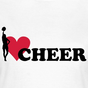 I love Cheerleading T-shirts - T-shirt Femme