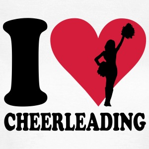 I love Cheerleading T-Shirts - Frauen T-Shirt