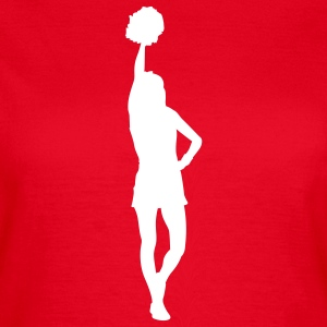Cheerleader T-Shirts - Frauen T-Shirt