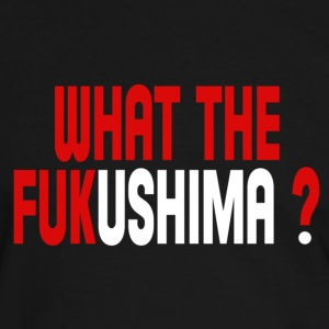 What the Fukushima ? T-shirts - Kontrast-T-shirt herr
