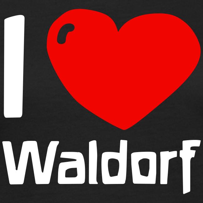 I love Waldorf Bio Shirt