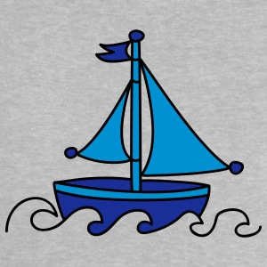 Blue Sailboat Baby Shirts  - Baby T-Shirt