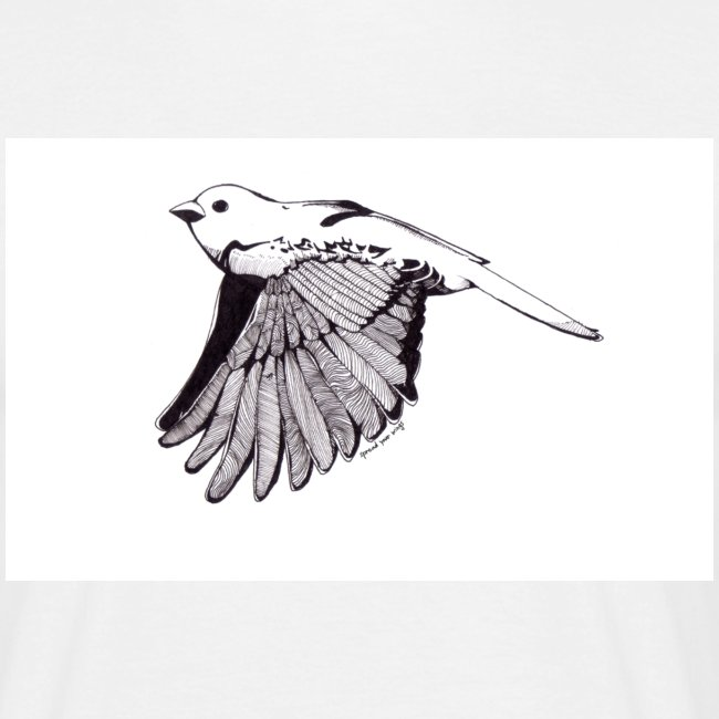 Little Monochrome Bird Mens