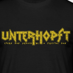 Unterhopft - Every Day Should Be A Festival Day - Männer T-Shirt