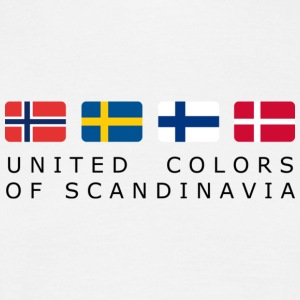 Classic T-Shirt UNITED COLORS OF SCANDINAVIA black-lettered - Männer T-Shirt