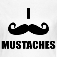 Design ~ MUSTACHES! Female