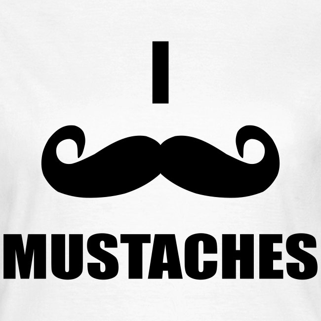 MUSTACHES! Female