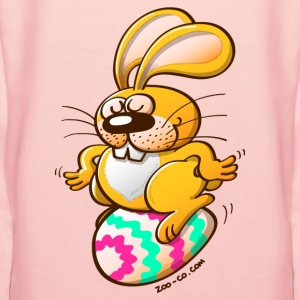 Bunny Sitting on an Easter Egg Hoodies & Sweatshirts - Women's Premium Hoodie